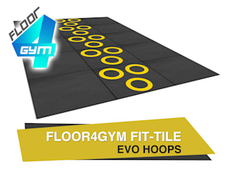 Functional Training Gym floor design by Balcan flooring and paint trade LTD