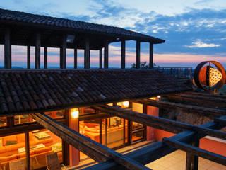La Gioia Andrea Chiesa è Progetto Immagine Balcone, Veranda & Terrazza in stile moderno
