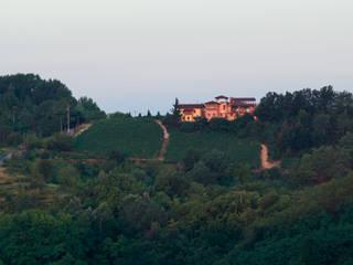 La Gioia Andrea Chiesa è Progetto Immagine Case moderne Arancio