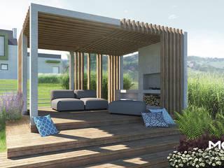 Minimalizm w Rzeszotarach od MOSS Architektura krajobrazu
