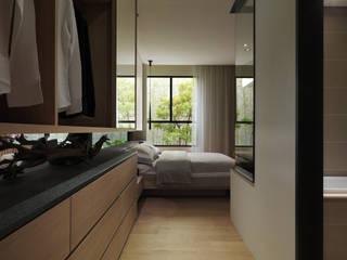 Moderne Schlafzimmer von 形構設計 Morpho-Design Modern