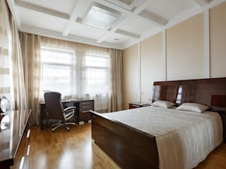 Classic style bedroom by Дизайн элитного жилья | Студия Дизайн-Холл Classic