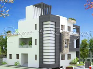 1 Square Designs Modern Houses