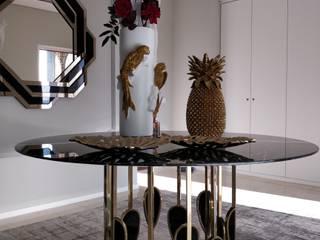 Hall de Entrada Felgueiras:  tropical por Angelourenzzo - Interior Design,Tropical