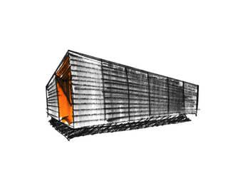 PABELLON MODULAR I + D + I. Valencia de Mano de santo - Equipo de Arquitectura Minimalista