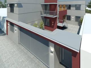 Complejo Habitacional - Lujàn de Cuyo. Casas modernas: Ideas, imágenes y decoración de Agustín Reyes - Zoom Arquitectura. Moderno