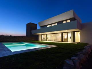 Proyecto de vivienda unifamiliar aislada CASA SANTA BARBARA 49. Valencia Casas de estilo mediterráneo de Mano de santo - Equipo de Arquitectura Mediterráneo