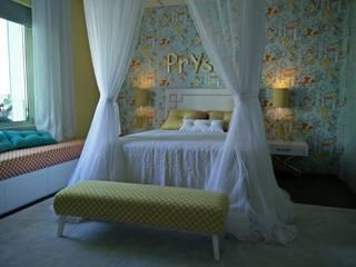 Apartamento no centro de Lisboa Quartos tropicais por Angelourenzzo - Interior Design Tropical