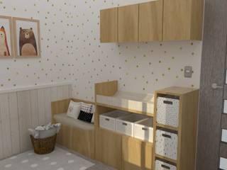 Mueble cambiador:  de estilo  por 78metrosCuadrados