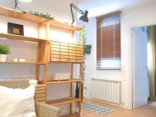 Salón:  de estilo  de Home Staging Bizkaia