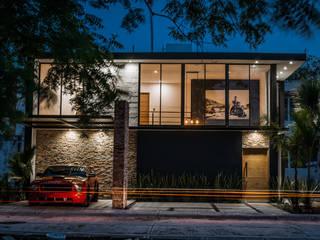 Loft Concord Arquitectos Ejecutivos Casas unifamiliares Concreto reforzado Multicolor