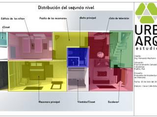 Diseño de interiores: Comedores de estilo  por Casa+Calle Estudio
