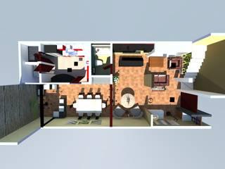 Diseño de interiores:  de estilo  por Casa+Calle Estudio