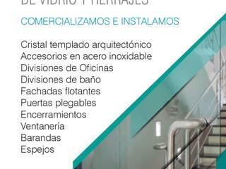 """Soluciones en vidrio templado:  de estilo {:asian=>""""asiático"""", :classic=>""""clásico"""", :colonial=>""""colonial"""", :country=>""""rural"""", :eclectic=>""""ecléctico"""", :industrial=>""""industrial"""", :mediterranean=>""""Mediterráneo"""", :minimalist=>""""minimalista"""", :modern=>""""moderno"""", :rustic=>""""rústico"""", :scandinavian=>""""escandinavo"""", :tropical=>""""tropical""""} por .K-Design arquitectura y diseño interior,"""