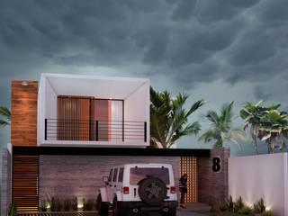 Casa 008 Tapachula. JC Arquitectos Casas modernas