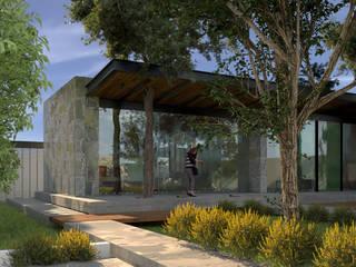Casa de descanso. Casas minimalistas de JC Arquitectos Minimalista