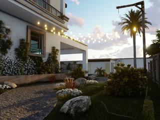 Jardines de estilo  de BUILD ARQUITECTURA, Colonial