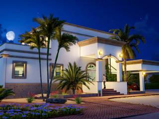 Villas de estilo  de BUILD ARQUITECTURA, Colonial