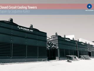 Konuk Isı – Gaziantep Devlet Hastanesi Kapalı Çevrim Soğutma Kulesi:  tarz Merdivenler