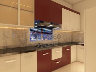 Kitchen:   by Ghar360