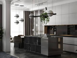 UI011 Кухня в стиле минимализм от U-Style design studio Минимализм