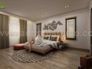 Modern House Design Ideas & Pictures by Yantram Architectural Visualisation Studio - Cape Town, South Africa Modern Yatak Odası Yantram Architectural Design Studio Modern