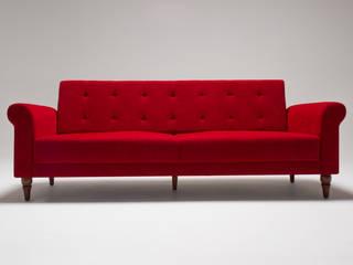 Madona Klasik Üçlü Yataklı Koltuk Kırmızı K105 Mobilya Pazarlama Danışmanlık San.İç ve Dış Tic.LTD.ŞTİ. Oturma OdasıKanepe & Koltuklar Ahşap Kırmızı