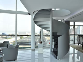 Apartamento na Torre de São Rafael , Parque das Nações por Nuno Ladeiro, Arquitetura e Design Moderno