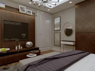 Nuevo Tasarım – Ankara Çay yolu Duru Irmak Sitesi Projesi:  tarz Yatak Odası