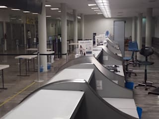 Bandara Gaya Industrial Oleh COMERCIALIZADORA BIOILUMINACIÓN SA DE CV Industrial
