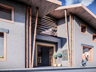 FRANCO CACERES / Arquitectos & Asociados ร้านอาหาร