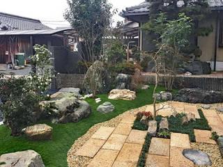 和の庭・エクステリア(外構) アジア風 庭 の 匠ガーデン 和風