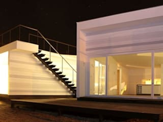Casa Punta Quintay: Casas unifamiliares de estilo  por MAC SPA