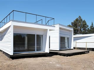 Casa Punta Quintay: Casas de estilo  por MAC SPA