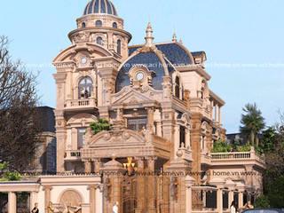 Thiết kế lâu đài bởi Công ty thiết kế biệt thự đẹp