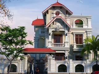 Biệt thự kiểu Pháp bởi Công ty thiết kế biệt thự đẹp