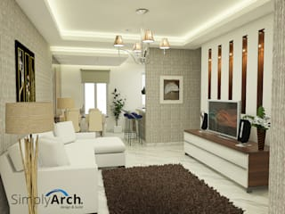 Living room by Simply Arch., Minimalist