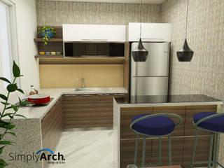 : Dapur oleh Simply Arch.,