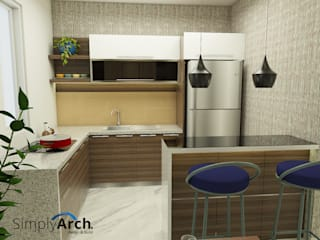 Kitchen by Simply Arch., Minimalist