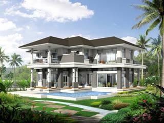 Biệt thự 2 tầng đẹp bởi Công ty thiết kế biệt thự đẹp