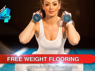 Free Weight Flooring Floor4gym UK: modern  by Balcan flooring and paint trade LTD, Modern