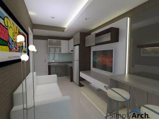 : Ruang Keluarga oleh Simply Arch.,