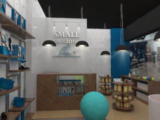 Boutique de productos de rehabilitación Espacios comerciales de estilo moderno de 78metrosCuadrados Moderno