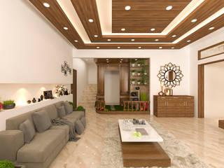 RATAN KUMAR VILLA by Samanta's Studio Modern
