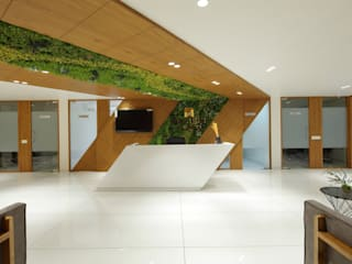 Corporate Office - Sanand:  Office buildings by malvigajjar,Modern