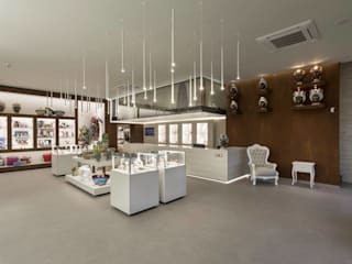 DFG Architetti Associati Locaux commerciaux & Magasin modernes