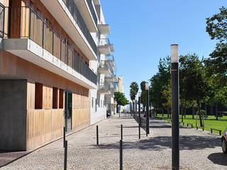 Plano de pormenor Expo 98: Condomínios  por Nuno Ladeiro, Arquitetura e Design