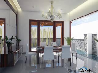: Ruang Makan oleh Simply Arch.,