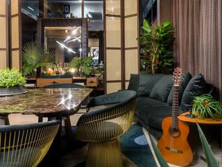 Sala de jantar: Salas de jantar  por Espaço do Traço arquitetura