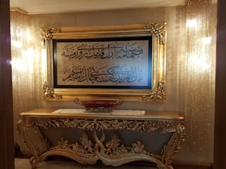 Mimar Melike Topal  – Klasik detaylı bir apartman dairesi dekorasyonu:  tarz